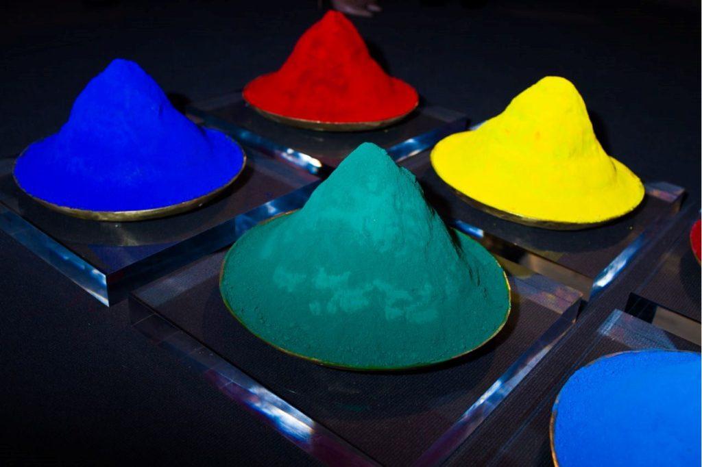 montes de color