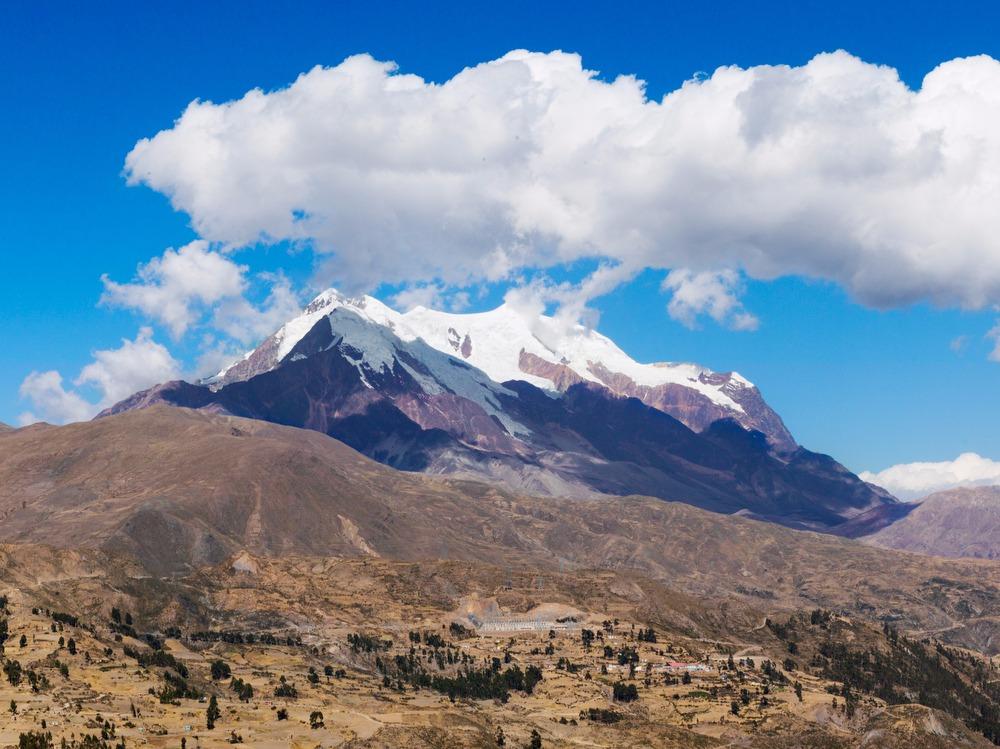 Illimani Mountain (Back) - Vestibule