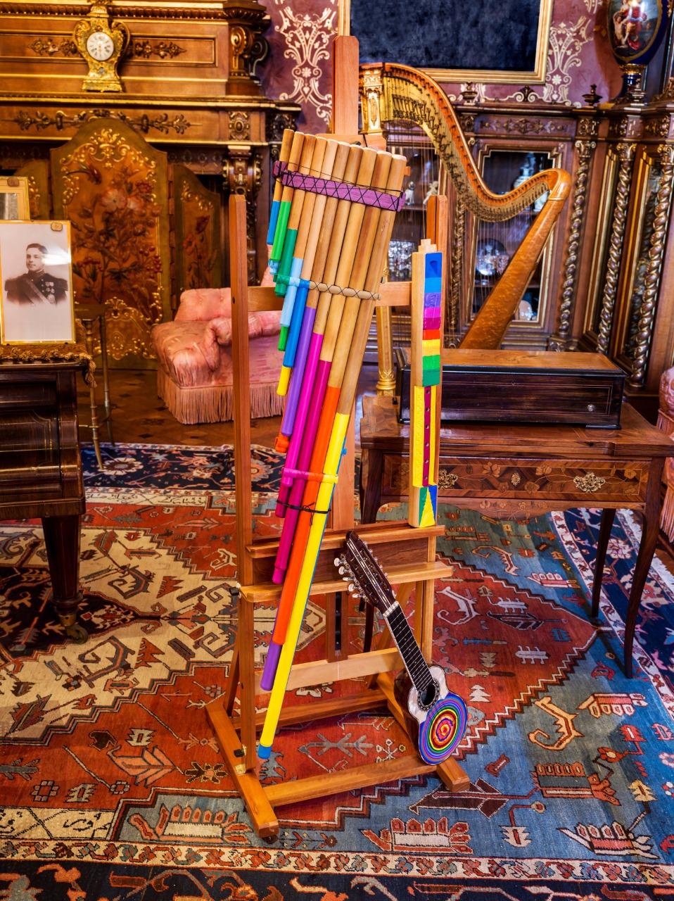 Bolivian Instruments - Music Room